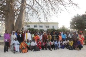 "Les membres de l'association ""les amis du baobab"""